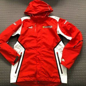 Puma Men Ferrari Challenge Pirelli hooded jacket